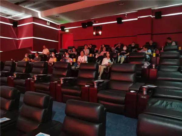 市住房公积金管理中心组织党员观看电影《三湾改编》